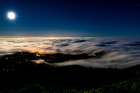 Fingers of Fog- San Fransisco, Sausalito